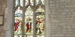 The window in St Luke\'s Chapel